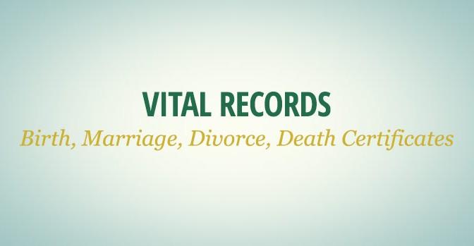 Vital Records database