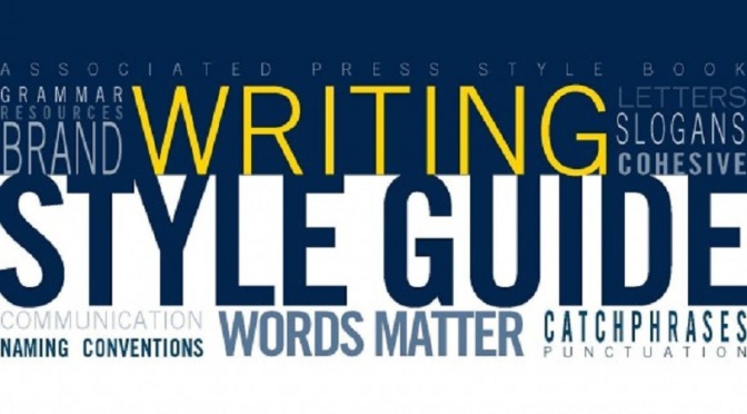 Publishing Style Guide